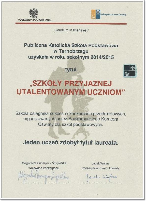 szkoly utalentowane uczniom2015
