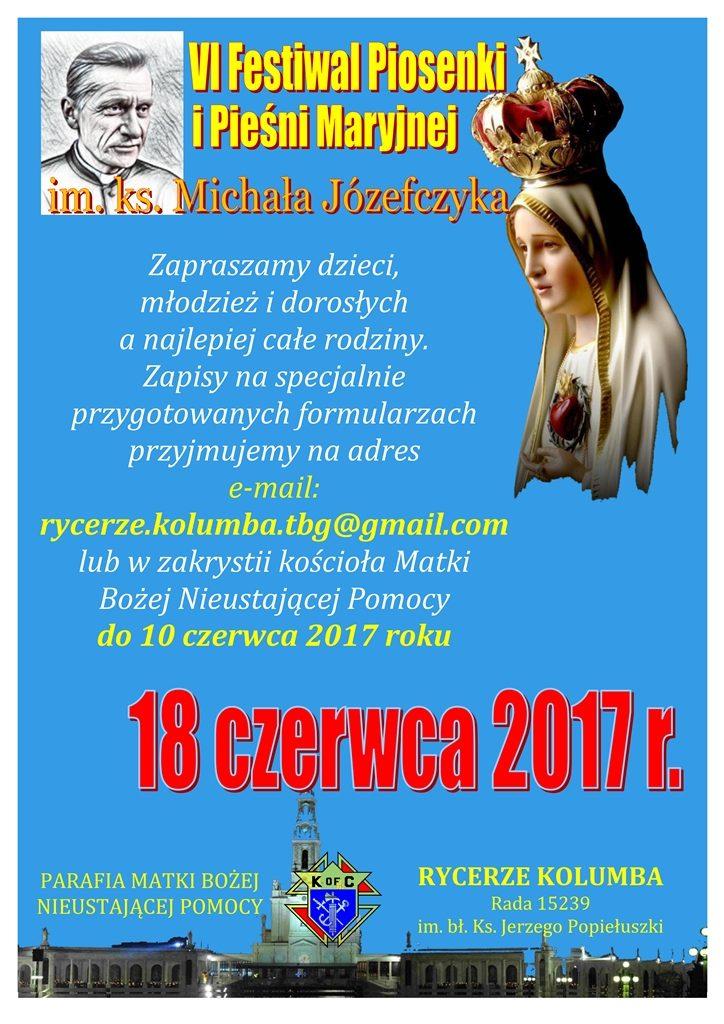 festiwal maryjny 2017